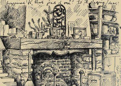 Peter Selgin, Pen and Ink Drawing
