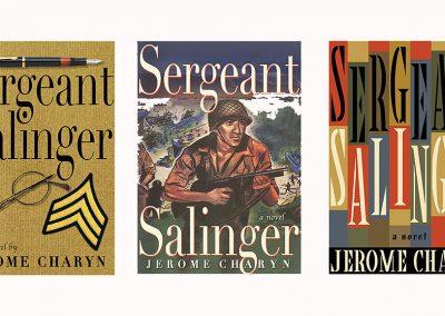 Peter Selgin, Book Cover Designs, Sergeant Salinger Variations