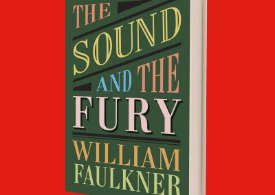 Peter Selgin, Book Cover Designs, Sound And Fury