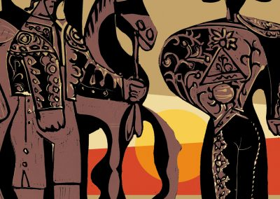 Peter Selgin, Book Cover Designs, Sun Also Rises