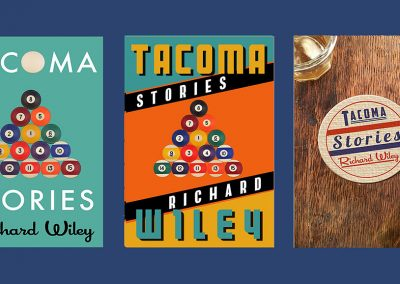 Peter Selgin, Book Cover Designs, Tacoma Stories Variations
