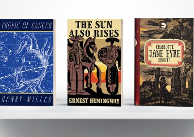 Peter Selgin, Book Cover Designs, Tropic Of Cancer Jane Eyre Sun Also Rises