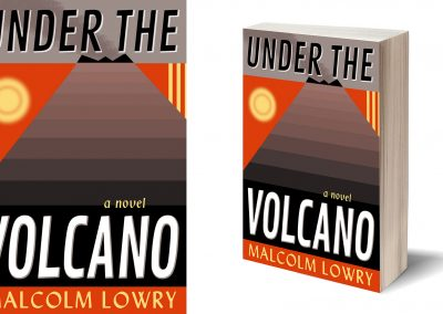 Peter Selgin, Book Cover Designs, Under The Volcano