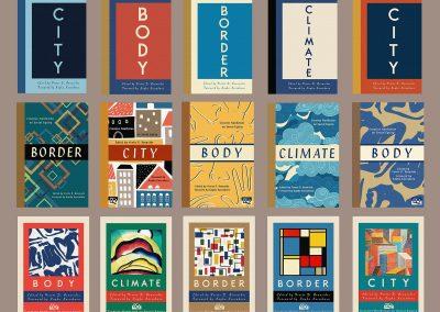 Peter Selgin, Book Cover Designs, Eq Preliminary Series Designs