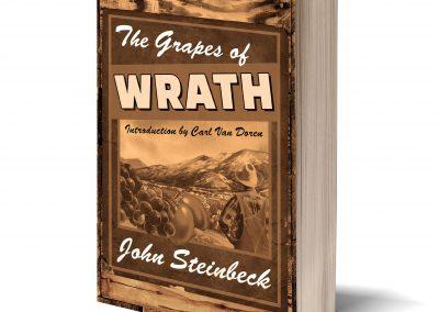 Peter Selgin, Book Cover Designs, Grapes Of Wrath
