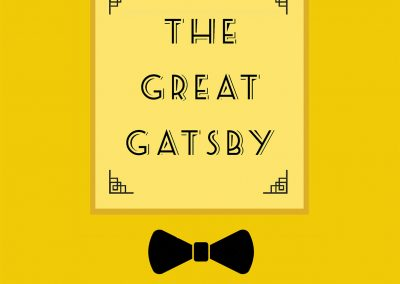 Peter Selgin, Book Cover Designs, The Great Gatsby