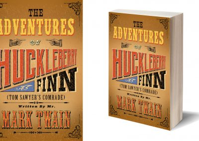Peter Selgin, Book Cover Designs, Huckleberry Finn