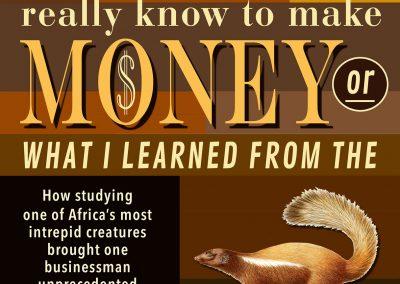 Peter Selgin, Book Cover Designs, Honey Badger