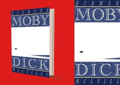 Peter Selgin, Book Cover Designs, Moby Dick