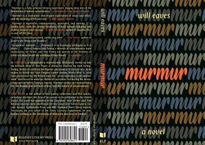 Peter Selgin, Book Cover Designs, Murmur