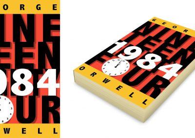 Peter Selgin, Book Cover Designs, George Orwell, 1984