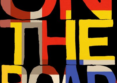 Peter Selgin, Book Cover Designs, On The Road