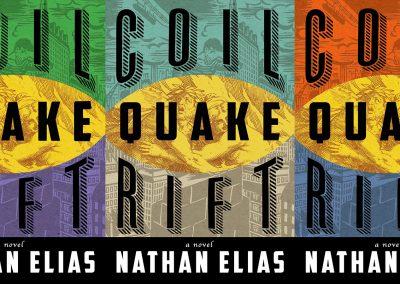Peter Selgin, Book Cover Designs, Rift Quake Coil