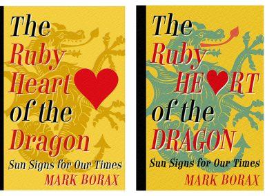 Peter Selgin, Book Cover Designs, Ruby Dragon