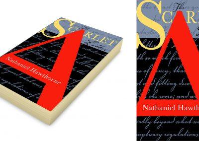 Peter Selgin, Book Cover Designs, Scarlet Letter