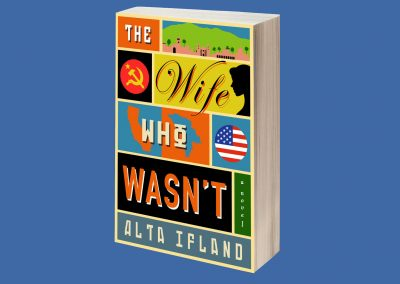 Peter Selgin, Book Cover Designs, The Wife Who Wasn't