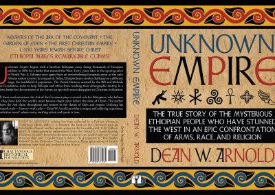 Peter Selgin, Book Cover Designs, Unknown Empire
