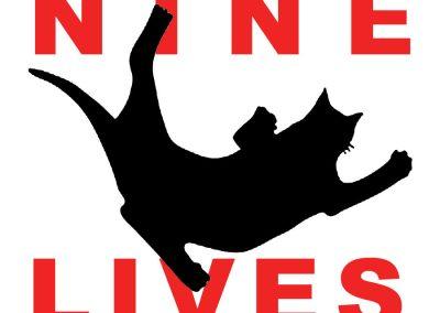 Peter Selgin Logo Design, Nine Lives