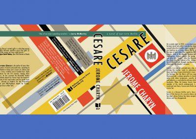 Peter Selgin, Book Cover Design, Cesare, Jerome Charym, Bellevue Literary Press