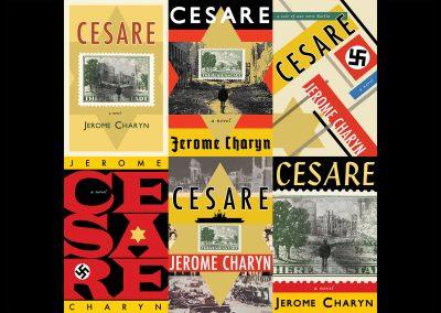 Cesare, Jerome Charyn, Bellevue Literary Press, Peter Selgin, Book Cover Design