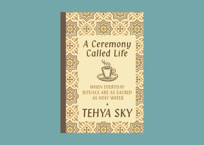 Peter Selgin, Book Cover Design, Tehya Sky, A Ceremony Called Life