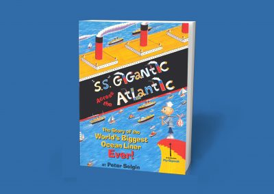 Peter Selgin, Book Cover Design, S.S. Gigantic, Simon & Schuster