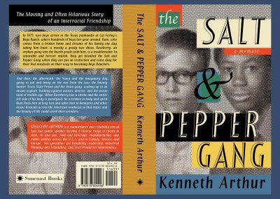 Peter Selgin, Book Cover Design, Salt & Pepper Gang, Kenneth Arthur