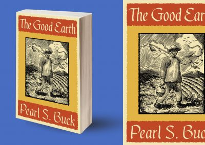Peter Selgin, Book Cover Design, The Good Earth, by Pearl S. Buck