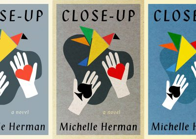 Peter Selgin, Cover Designs for Close-Up by Michelle Herma