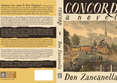 Peter Selgin, Cover Design for Concord, Don Zancanella