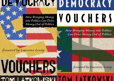 Peter Selgin, Cover Design Democracy Vouchers